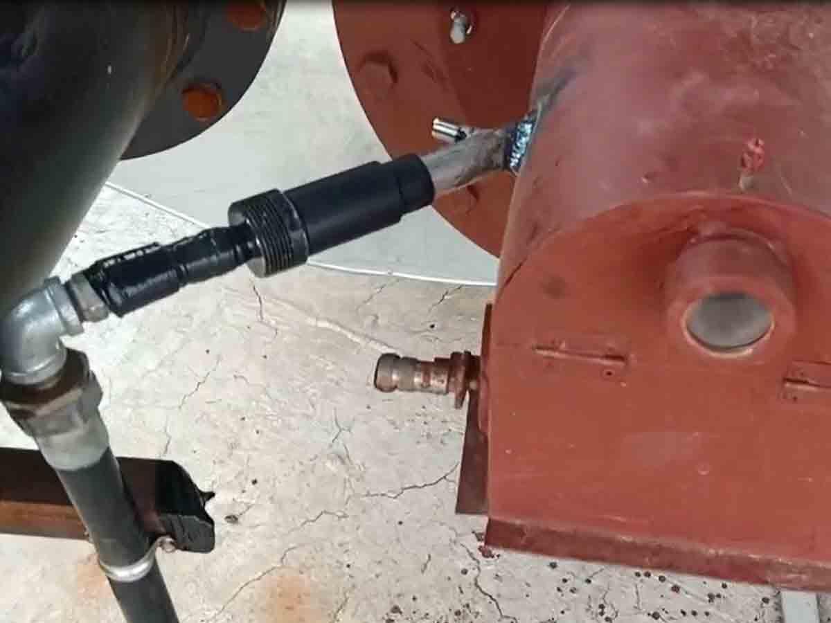 志丹某天然气站水套炉熄火保护报警控制系统--熄火保护报警控制箱应用
